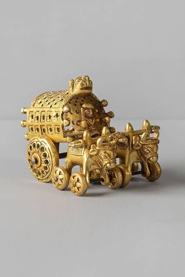Rustic Bull Cart