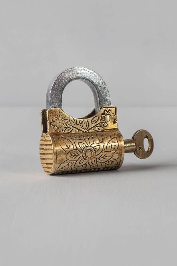 Dholak Antique Lock