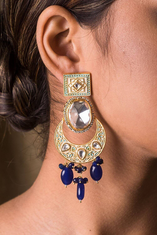 Atirajni Kundan Earrings