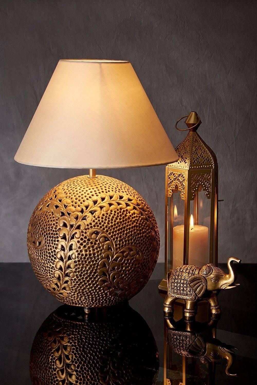 Golden Mughal Lamp