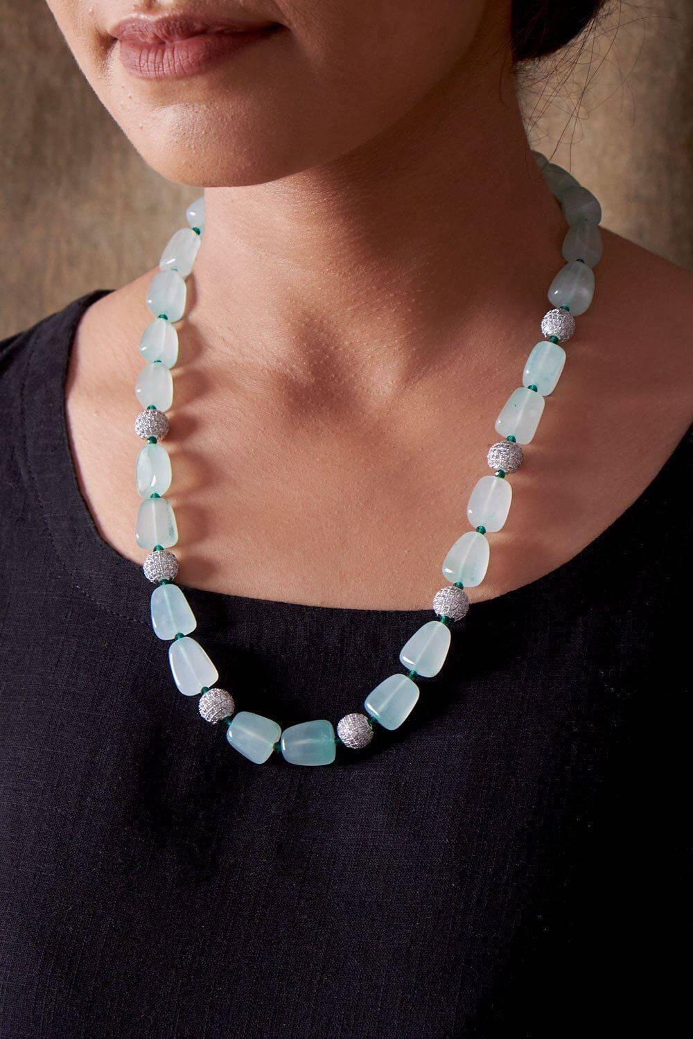 Studded Beads Necklace