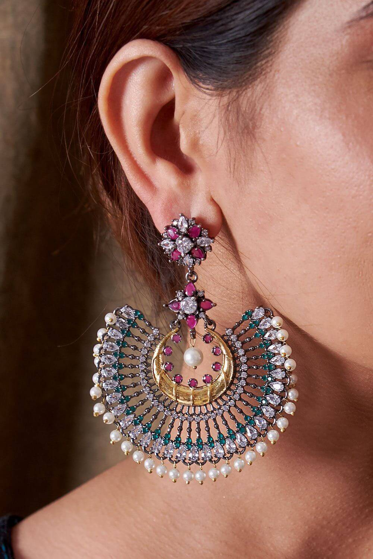 Nikhat Earrings