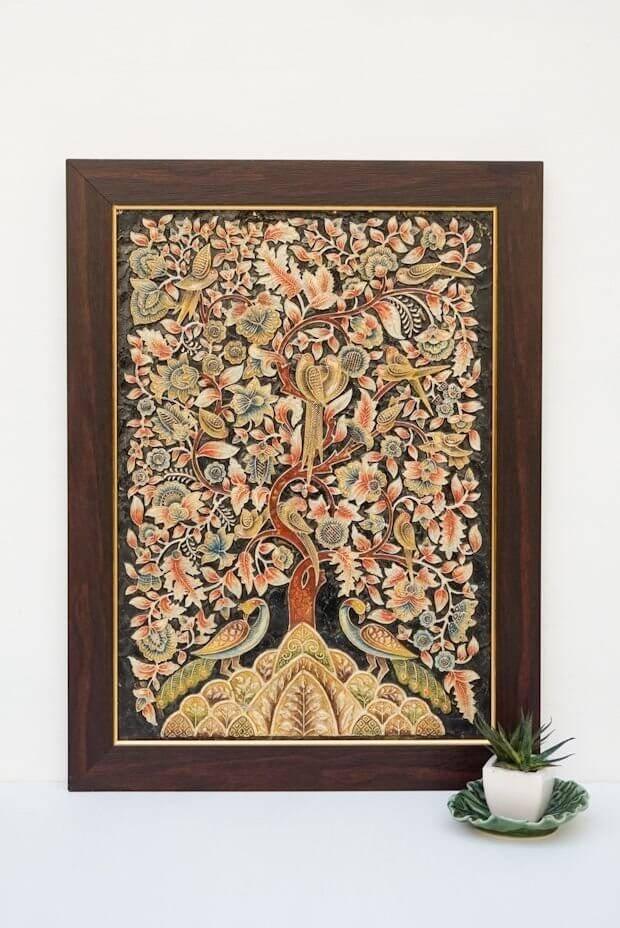 Around the Tree of Life - Ebony ( 22.5in x 17in )
