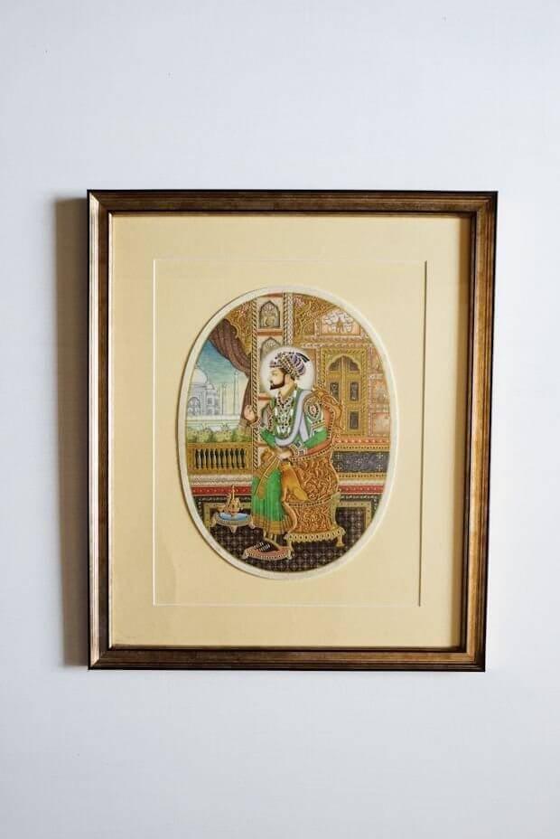 Shah Jahan Miniature