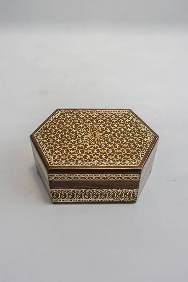 """Majestic Trinket Box (4.5"""" x 3""""x 2"""")"""