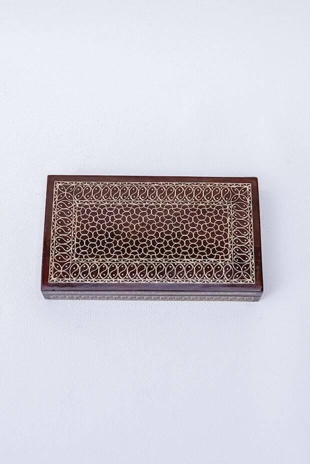 "Kashmir Multi-Purpose Box (7"" x 4"" x 1"")"