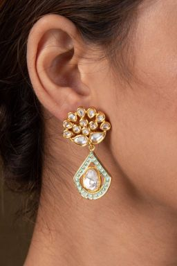 Bhauriki Kundan Earrings