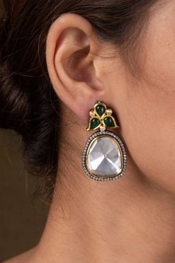 Phagi Kundan Earrings
