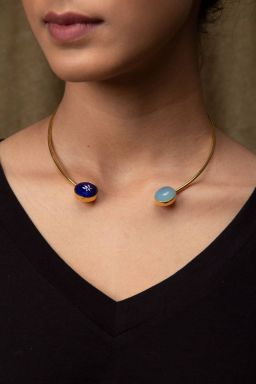 Zryahva Azure Necklace