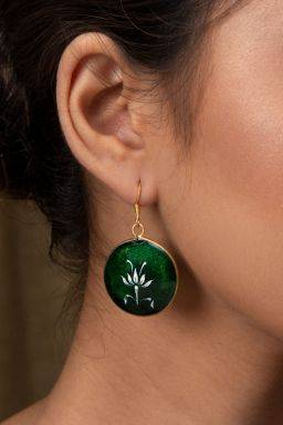 Kairav Emerald Earrings