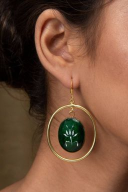 Savarija Emerald Earrings