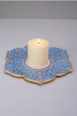 Moonlit Candle Plate