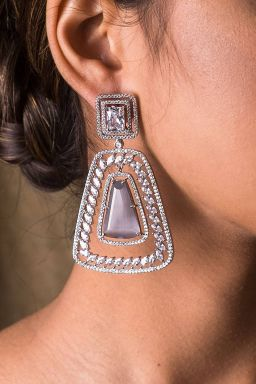 Smoky Opulent Earrings