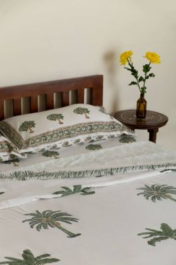 Cloris Tropical Palm Duvet