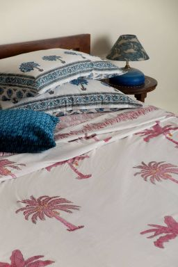 Delphine Tropical Palm Duvet