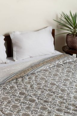 Yalina Reversible Cotton Quilt