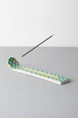 Chequered Incense Stick Holder