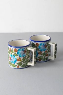 Shalimar Bagh Coffee Mugs (set of 2)
