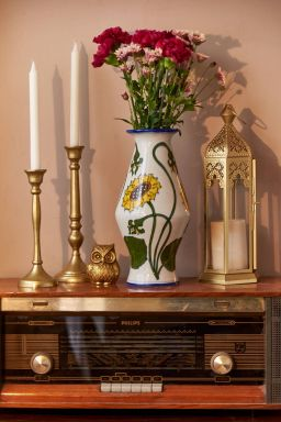 Philomela Sunflower Vase