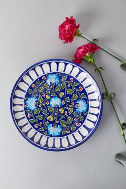 """Forest Blossom Plate (10"""")"""