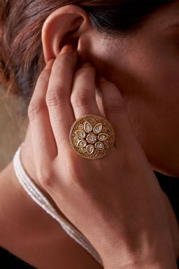Royal Gold Adjustable Ring