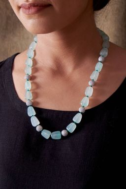Studded Beads Necklace