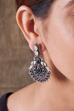 Royal Plume Earrings