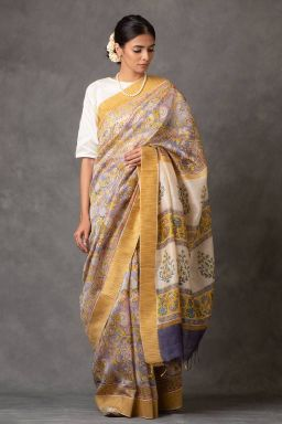 Sunshine Chanderi Saree