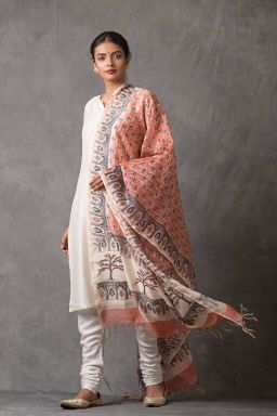 Blush Chanderi Dupatta