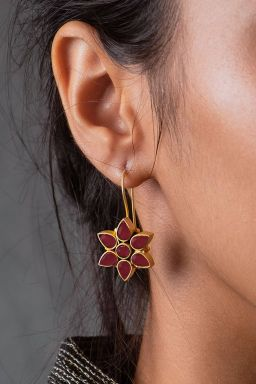 Taffy Floral Earrings