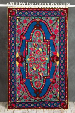 Maalai Embroidered Carpet (5ft x 3ft)