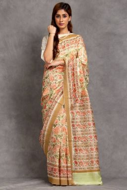 Ramya Chanderi Saree (with Blouse)