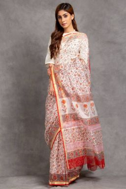 Ishya Kota Silk Saree (with Blouse)