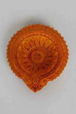 "Pujit Diya (6.75"" x 6"" x 1.5"")- Set of 2"