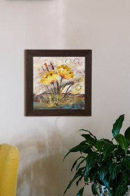 Ciuri Wall Painting  ( 14.5in X 14.5in)