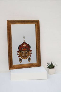Zarshan Mirror Painting ( 14in x 10in )