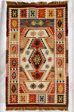 Chromatic Kerman Rug ( 4ft x 6ft )