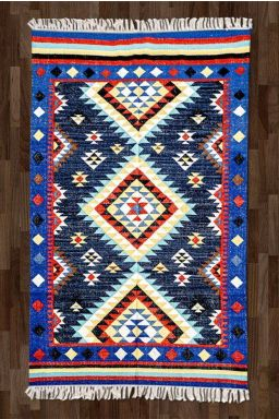 Transitional Geometric Rug ( 5ft x 8ft )