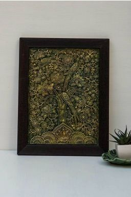 Green Paragon Relief Work ( 13in x 10in )