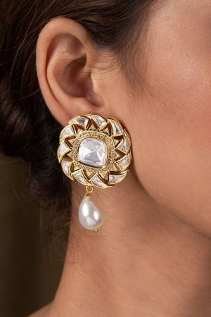 Valaya Pearl Drop Earrings