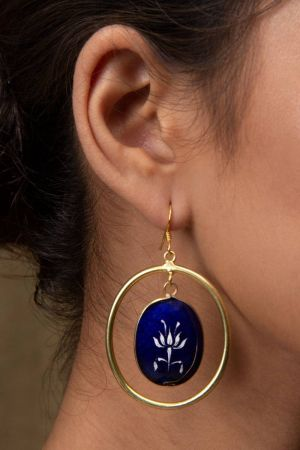 Savarija Azure Earrings
