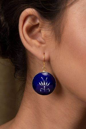 Kairav Azure Earrings