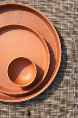 Kyi Terracotta Bowl ( Set of 2)