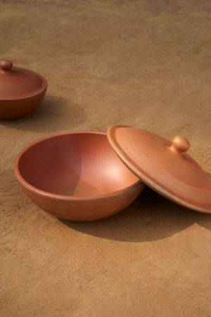 Zarni Terracotta Serving Bowl ( 1000 ml)