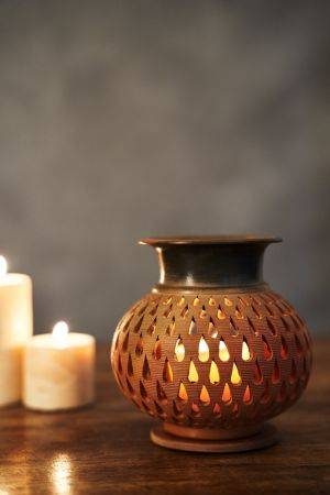 Nandar Tealight Holder