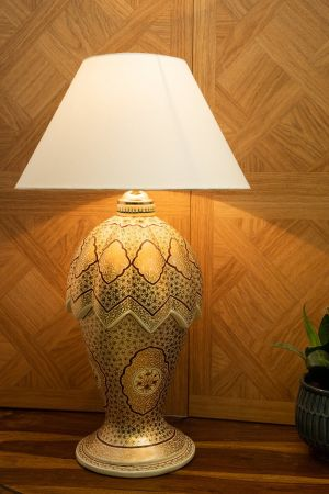 Khaista Table Lamp ( Without Shade )