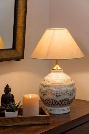 Pearl Chinar Table Lamp