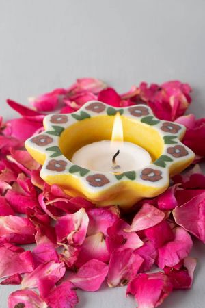 Hibiscus Flower Tealights (set of 2)