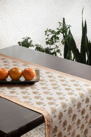 Niha Palms Table Runner