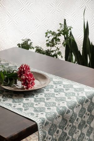 Fontanne Verdant Table Runner